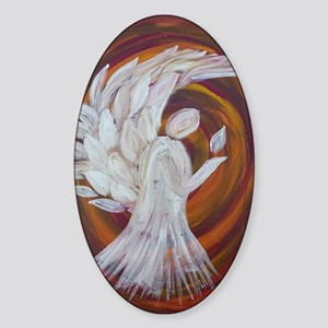 Arch of the Angels Sticker (Oval)
