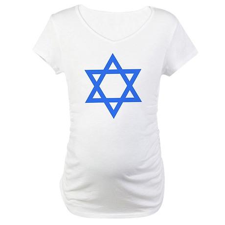 Star of David Maternity T-Shirt