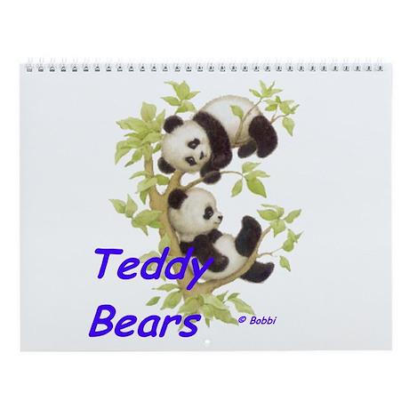 Teddy Bears Wall Calendar