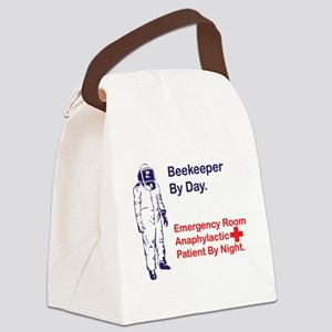 Beekeeper by day Canvas Lunch Bag