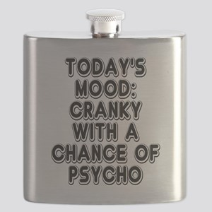 Cranky With A Chance Of Psycho Flask