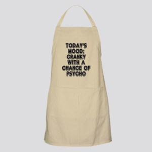 Cranky With A Chance Of Psycho Apron