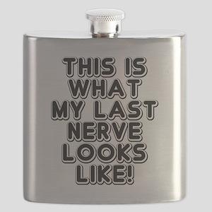 Last Nerve Plucked Flask