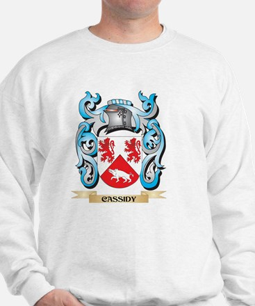 Cassidy Coat of Arms - Family Crest Sweatshirt