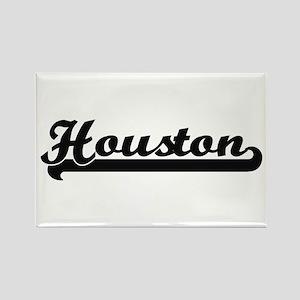 Houston Texas Classic Retro Design Magnets
