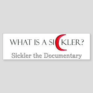 Sickler Documentary Logo Sticker (Bumper)
