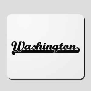 Washington District of Columbia Classic Mousepad