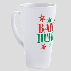 Bah Humbug 17 oz Latte Mug