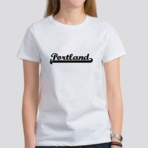 Portland Oregon Classic Retro Design T-Shirt