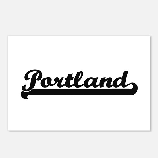 Portland Oregon Classic R Postcards (Package of 8)