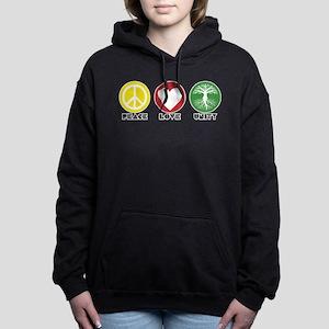 PEACE LOVE UNITY - Reggae tree of life Women's Hoo