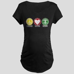 PEACE LOVE UNITY - Reggae tree of life Maternity T
