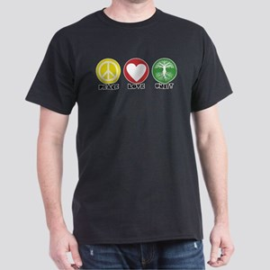 PEACE LOVE UNITY - Reggae tree of life T-Shirt