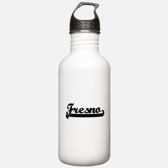 Fresno California Clas Water Bottle