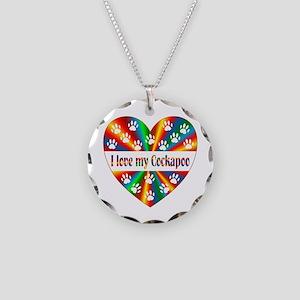 Cockapoo Love Necklace Circle Charm