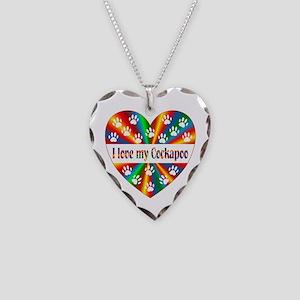 Cockapoo Love Necklace Heart Charm