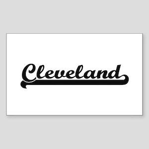 Cleveland Ohio Classic Retro Design Sticker