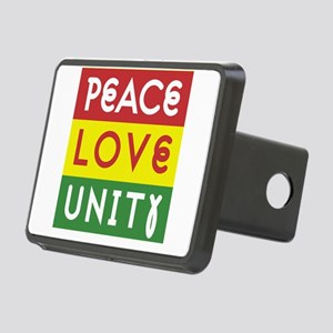 PEACE LOVE UNITY - Reggae Hitch Cover