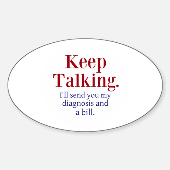 Keep Talking Decal