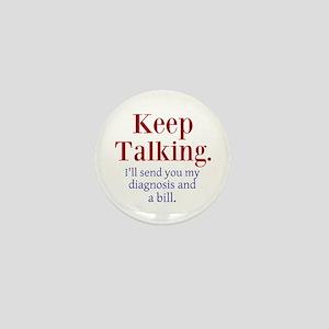 Keep Talking Mini Button