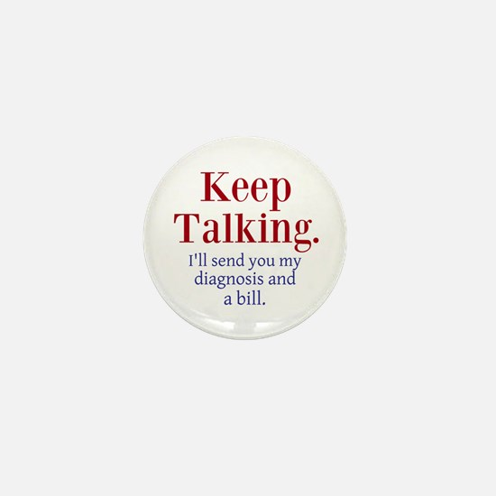 Keep Talking Mini Button