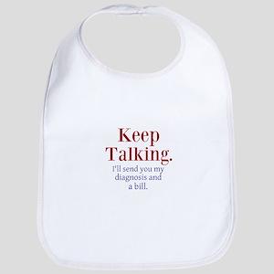 Keep Talking Bib