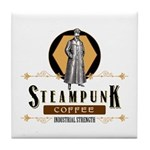 Steampunk Coffee Industrial Strength Tile Coaster