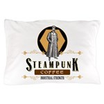 Steampunk Coffee Industrial Strength Pillow Case