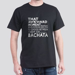 Bachata Dance Awkward Designs Dark T-Shirt
