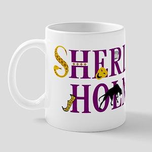 Sherlock Holmes Lives Mug