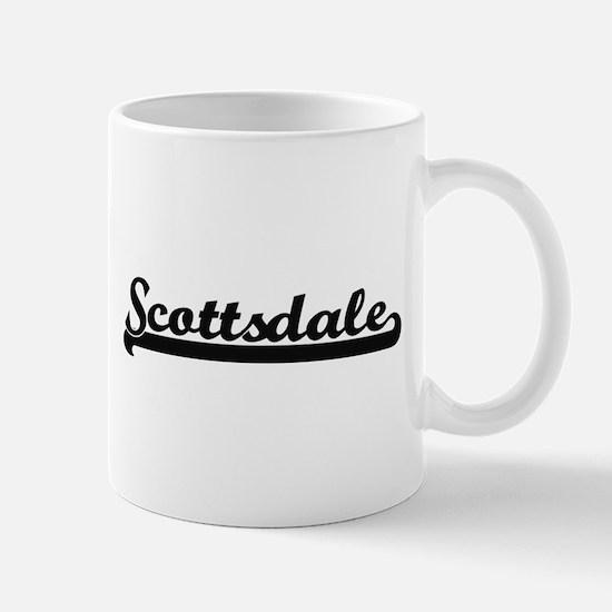 Scottsdale Arizona Classic Retro Design Mugs