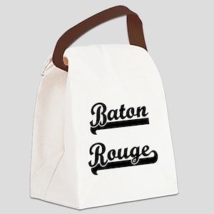 Baton Rouge Louisiana Classic Ret Canvas Lunch Bag