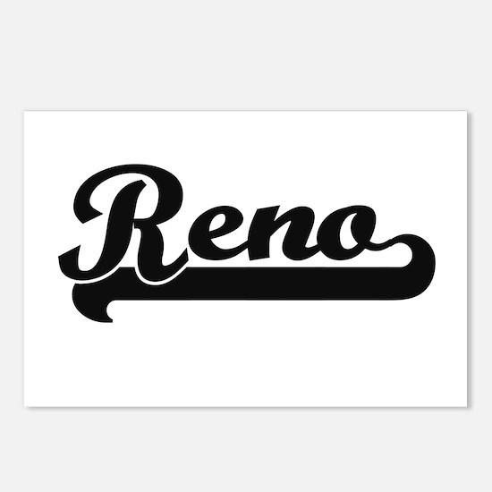 Reno Nevada Classic Retro Postcards (Package of 8)