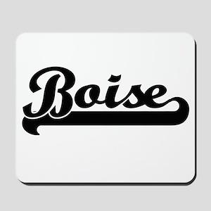 Boise Idaho Classic Retro Design Mousepad