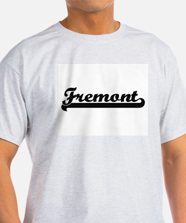 Fremont California Classic Retro Design T-Shirt