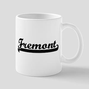 Fremont California Classic Retro Design Mugs