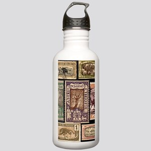 African Animals on Vin Stainless Water Bottle 1.0L