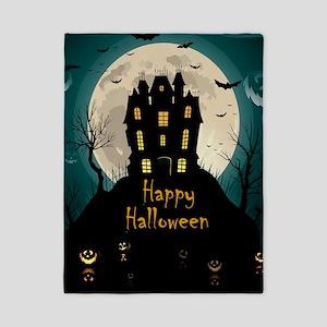 Happy Halloween Castle Twin Duvet