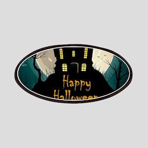 Happy Halloween Castle Patch