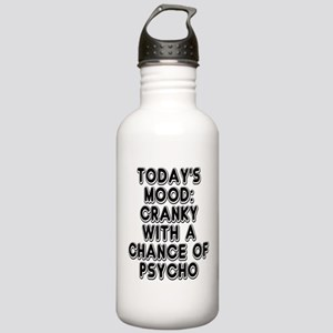 Cranky With A Chance O Stainless Water Bottle 1.0L