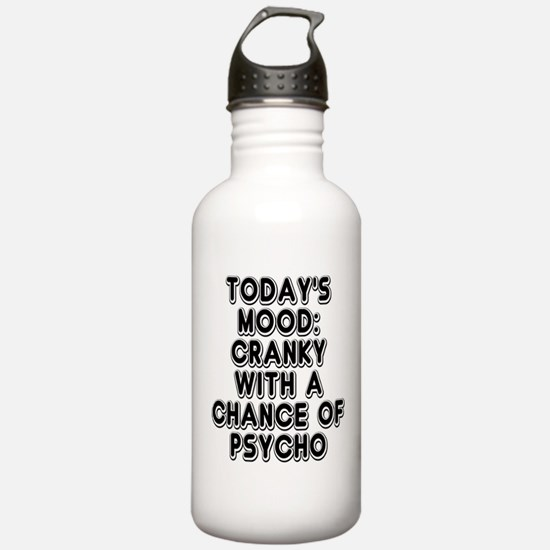 Cranky With A Chance O Sports Water Bottle