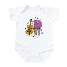 String Bass Infant Bodysuit