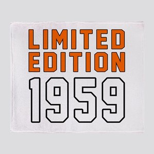 Limited Edition 1959 Throw Blanket