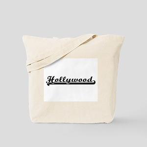 Hollywood Florida Classic Retro Design Tote Bag