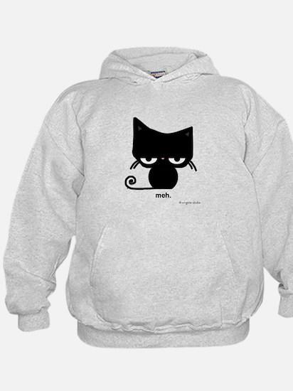 meh cat Sweatshirt