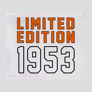 Limited Edition 1953 Throw Blanket