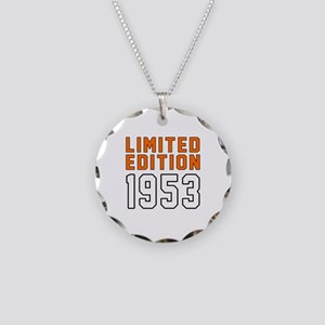 Limited Edition 1953 Necklace Circle Charm