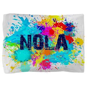 NOLA Splat Pillow Sham