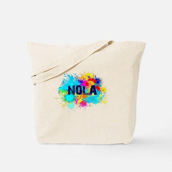 NOLA Splat Tote Bag