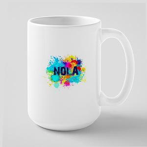 NOLA Splat Large Mug